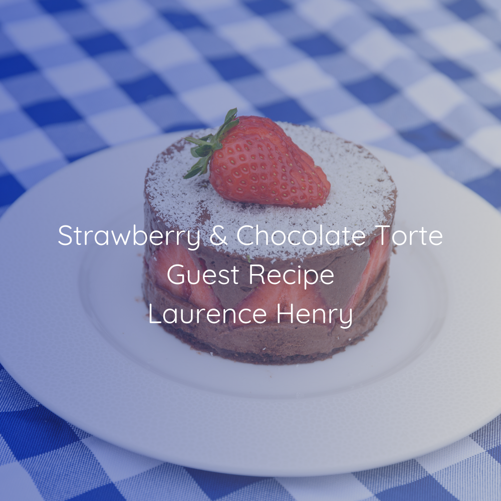 Strawberry & Chocolate Torte