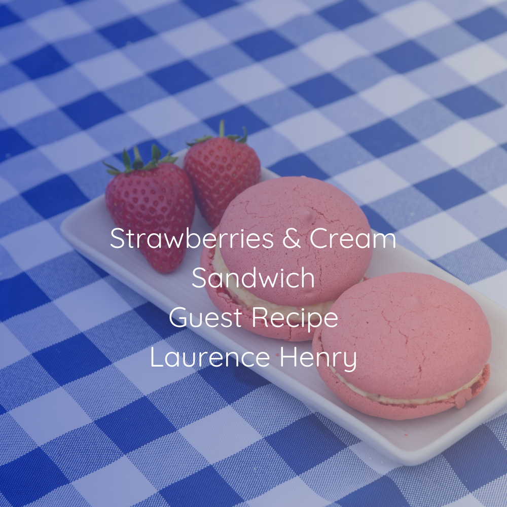 Strawberries and Cream Sandwich