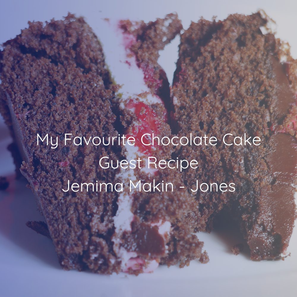 Jemima's Chocolate and Strawberry Mudcake