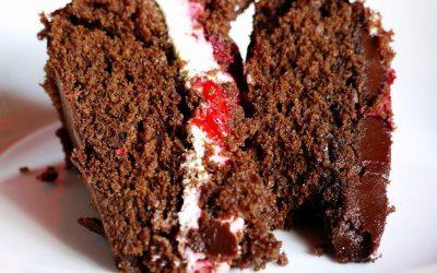 Jemima's Chocolate & Strawberry Mud Cake
