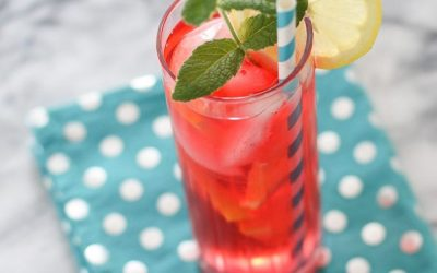 Strawberry and Mint Crush