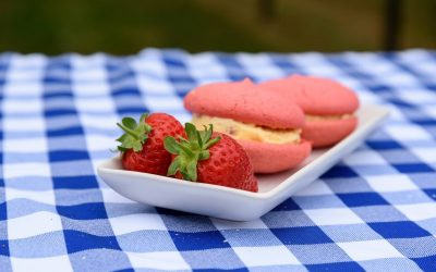 Strawberries & Cream Sandwich