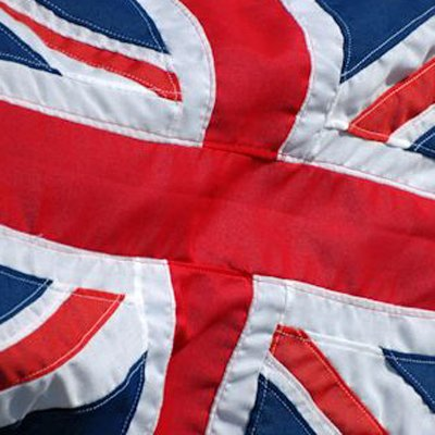 Close up of a Union Flag