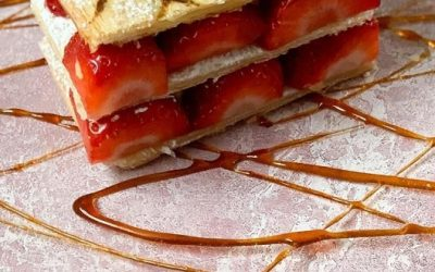 Mille-feuille with Strawberries – Rob Kirby Guest Recipe