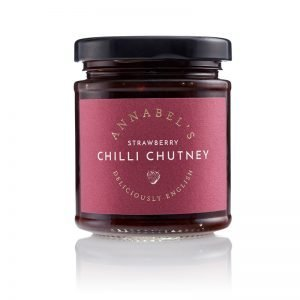 Annabel's Strawberry Chilli Chutney