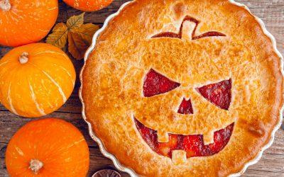 Spooky Strawberry Pie