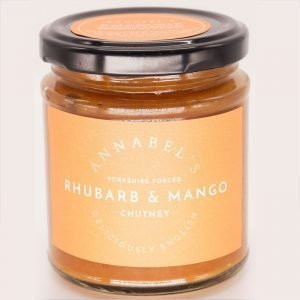 Rhubarb and Mango Chutney